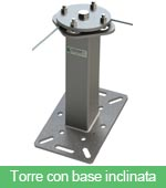 Torre con base inclinata